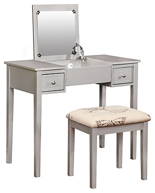 Kensley Butterfly Vanity Set, , large