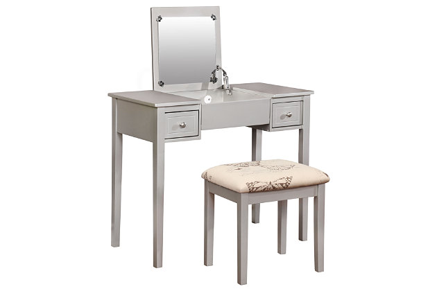 Kensley Butterfly Vanity Set Ashley Furniture Homestore