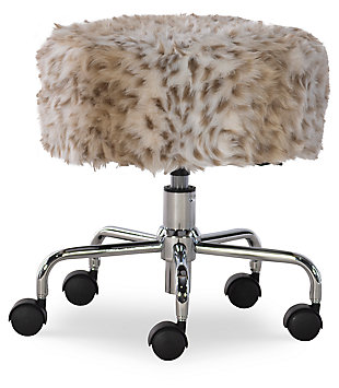 Lexi Rolling Stool, , large