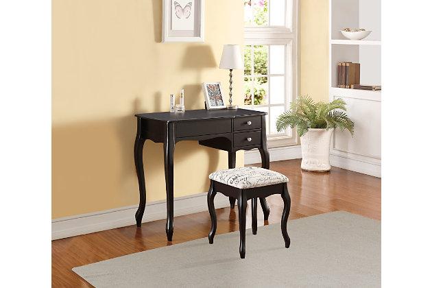 Linon Vanity Set, , large