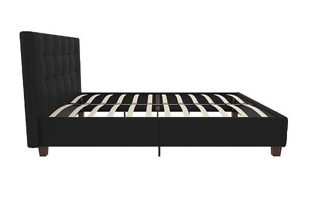 Rose Full Upholstered Bed, , large