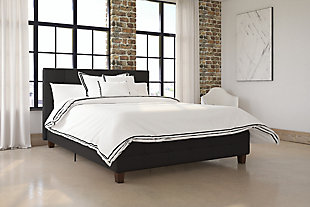 Rose Full Upholstered Bed, , rollover