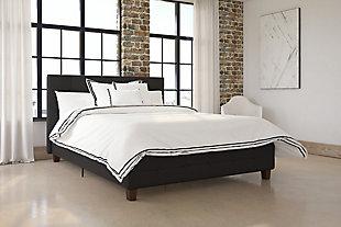 Rose Full Upholstered Bed, , rollover