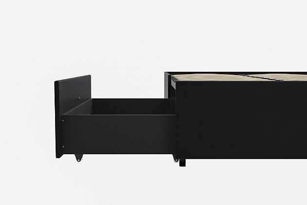 Maven Platform Full Bed with Storage, , large