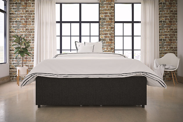 Maven Full Platform Bed with Storage, , large