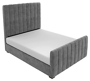 Dante Full Upholstered Bed, , large
