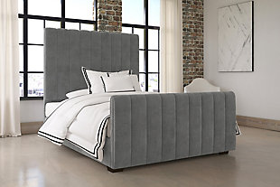 Dante Full Upholstered Bed, , rollover