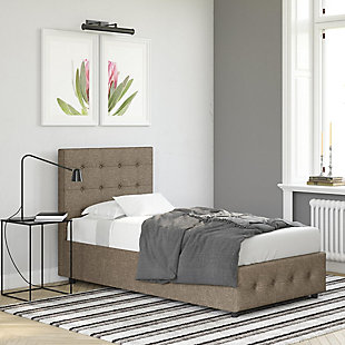 DHP Atwater Living Sydney Twin Upholstered Bed, , rollover
