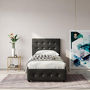 DHP Atwater Living Sydney Twin Upholstered Bed, , large
