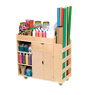 Guidecraft Art Activity Cart, , rollover