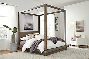 Modus Furniture Melbourne Full Canopy Bed, , rollover