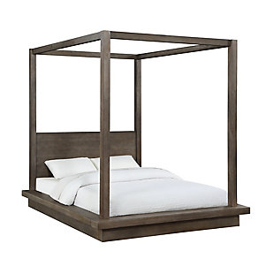 Modus Furniture Melbourne Full Canopy Bed, , large