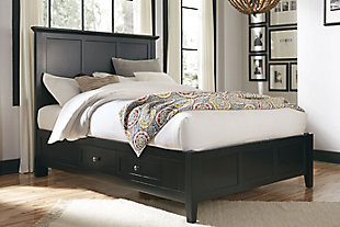 Modus Furniture Paragon Full Four Drawer Storage Bed, , rollover