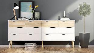 Oslo  8 Drawer Double Dresser, , rollover