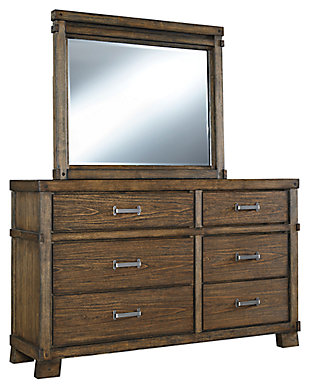 Leystone Dresser and Mirror, , large