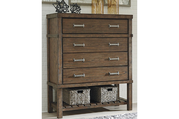 Leystone Chest of Drawers by Ashley HomeStore, Brown