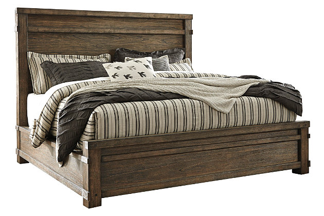 Leystone Queen Panel Bed, , large