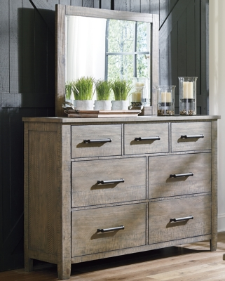Aldwin Dresser and Mirror, , large