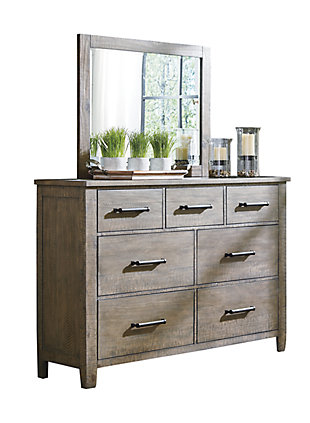 Aldwin Dresser and Mirror, , large