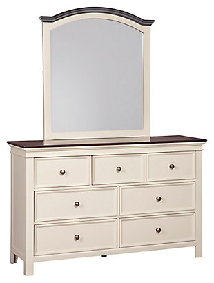 Woodanville Dresser and Mirror, , large