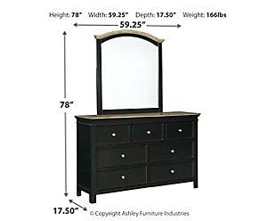 Froshburg Dresser and Mirror, , large