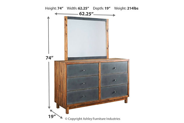 Harlynx Dresser Mirror, , large