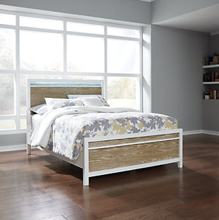 Gardomi Panel Bed, , rollover