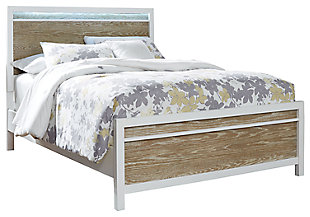 Gardomi Queen Panel Bed, , large