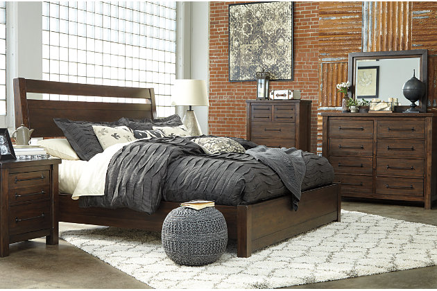 Starmore King Panel Bed | Ashley Furniture HomeStore