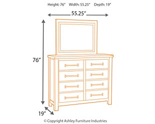 Starmore Dresser and Mirror, , large