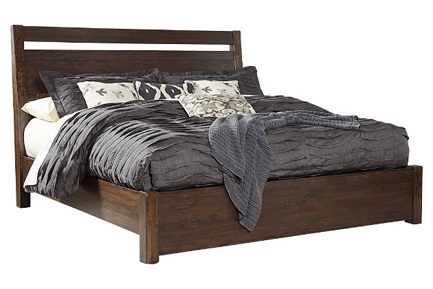 Bed Pictures starmore queen panel bed | ashley furniture homestore