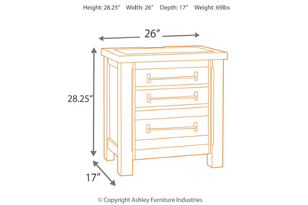 Starmore Nightstand, , large