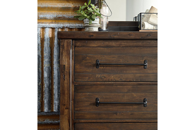 Starmore dresser and mirror ashley furniture homestore for Starmore ashley furniture bedroom