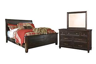 ashley furniture king bedroom sets. Townser 5-Piece King Sleigh Bedroom, Ashley Furniture Bedroom Sets 1