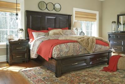 Townser Queen Panel Bed with StorageAshley Furniture HomeStore