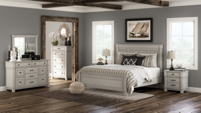 Jennily Queen Panel Bed Ashley Furniture Homestore