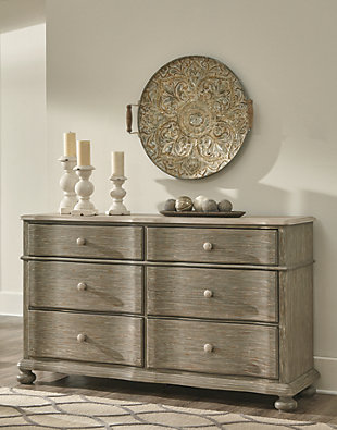 Marleny Dresser and Mirror, , large