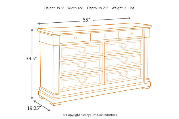 Bolanburg Dresser, , large