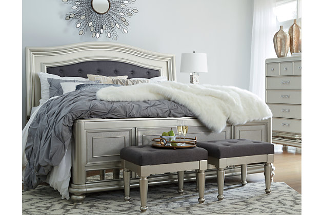 Coralayne Queen Panel Bed Ashley Furniture Homestore