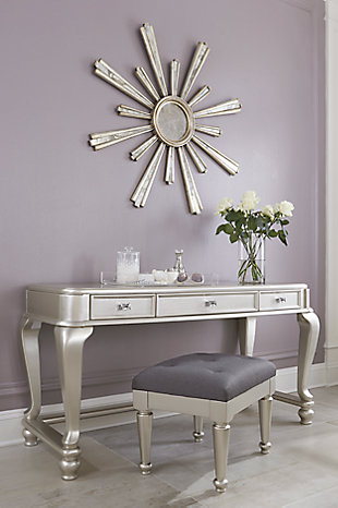 Coralayne Youth Vanity with Chair, , rollover