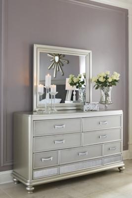 Coralayne Dresser and Mirror, , large