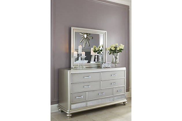 Coralayne Dresser and Mirror, , large