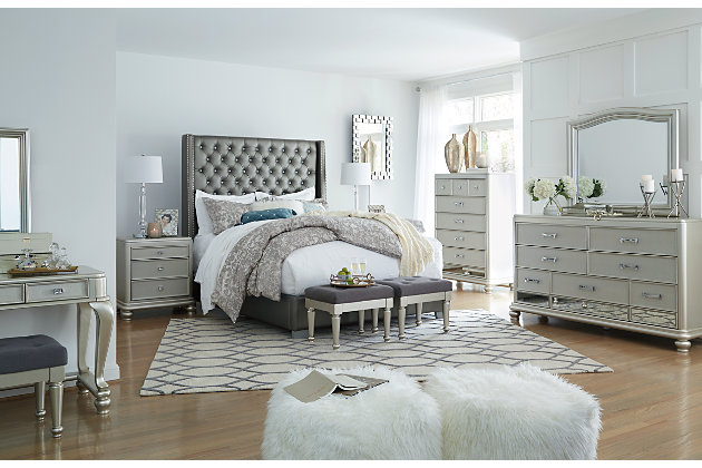 Coralayne Queen Upholstered Bed Ashley Furniture Homestore