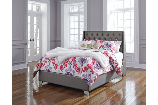 Coralayne Full Upholstered Bed, , large