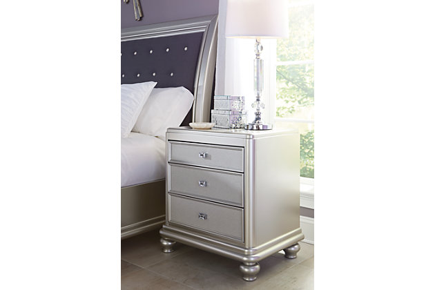 Pretty Coralayne Nightstand Product Photo