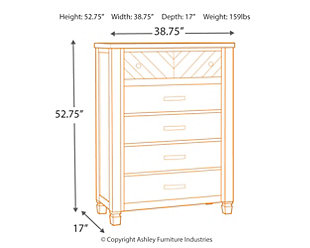 Colestad Chest of Drawers, , large