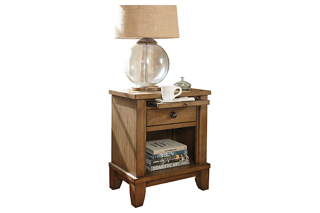 Tamburg Nightstand by Ashley HomeStore, Brown