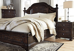 Chamness 3-Piece King Duvet Cover Set, Sand, large
