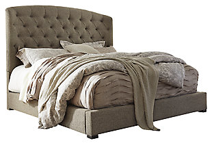Exceptional Gerlane Queen Upholstered Bed, ...