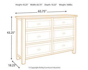 Trudell Dresser, , large